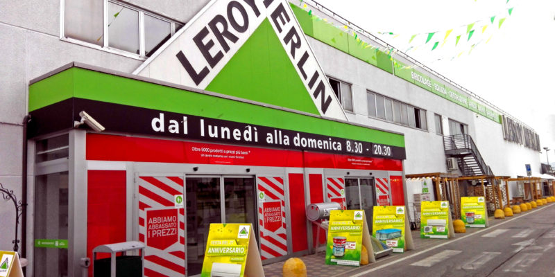 Relamping punto vendita leroy merlin san giovanni for Leroy merlin lecce